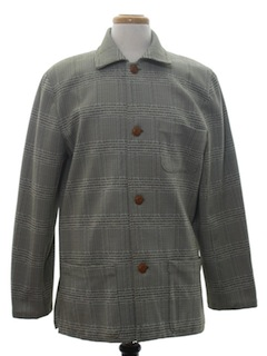 1970's Mens Car Coat FIeld Jacket