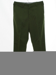 1970's Mens Uniform Slacks Pants