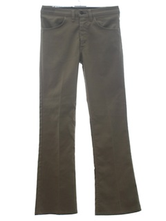 1960's Mens Jeans-Cut Flared Pants