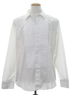 1980's Mens Tux Shirt