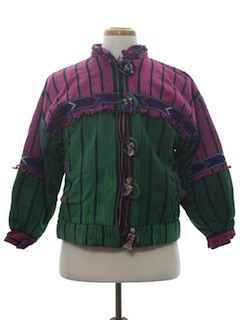 1980's Unisex Guatemelan Hippie Jacket