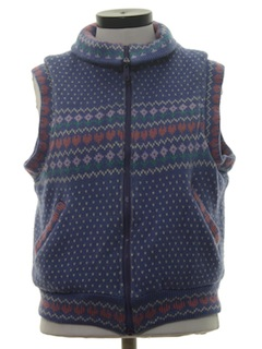 1980's Womens Totally 80s Reversible Ski Vest