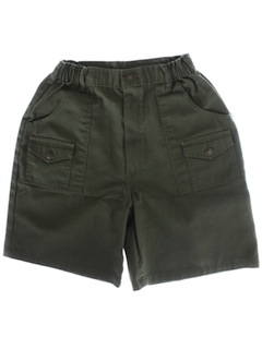 1980's Mens or Boys Boyscout Shorts