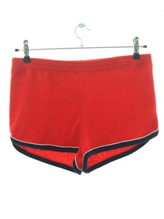 1980's Mens Terry Cloth Sport Shorts