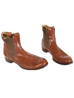 1930's Mens Accessories - Ankle Boots Shoes