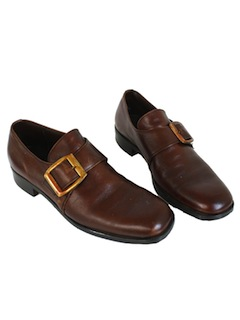 1970's Mens Accessories - Mod Loafer Shoes