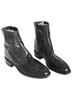 1980's Mens Accessories - Mod Ankle Boots Shoes