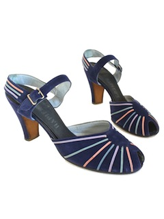 1930's Womens Accessories - Sling Sandals Shoes