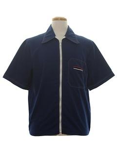 1960's Mens Mod Sport Shirt Jac