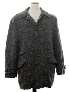 1950's Mens Rockabilly Coat Jacket