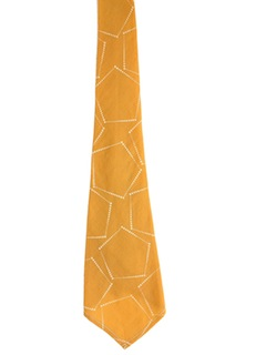 1930's Mens Wide Swing Necktie