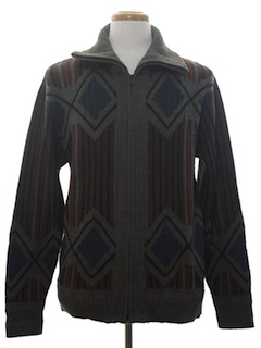 1980's Mens Totally 80s Cosby Style Sweater