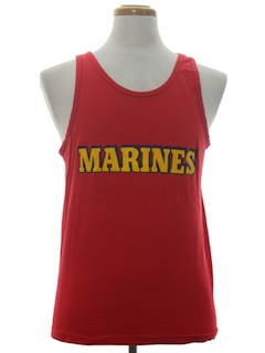 1980's Mens Muscle Tanktop T-Shirt