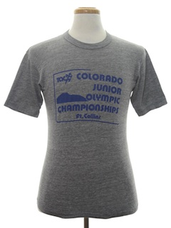 1980's Unisex Sports Junior Olympics T-Shirt