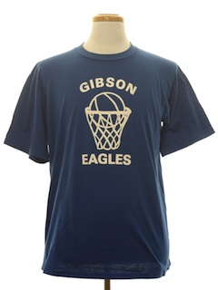 1980's Unisex Sports Basketball T-Shirt