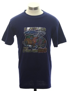 1970's Unisex Cheesy Car T-Shirt