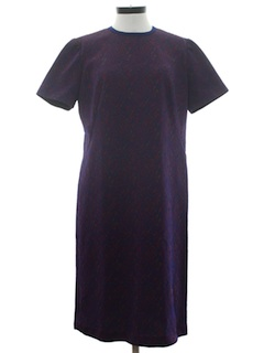 1970's Womens A-Line Knit Dress