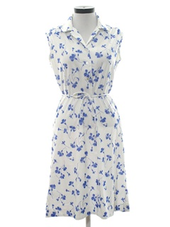 1970's Womens A-Line Shift Dress