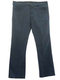 1970's Mens Flared Jeans-Cut Western Pants
