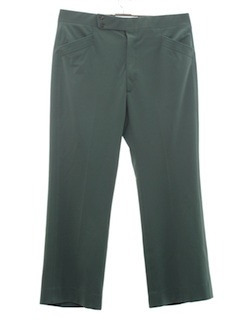 1970's Mens Flared Leisure Style Golf Pants