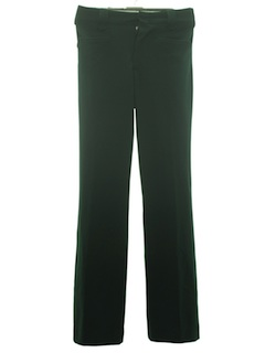 1960's Mens Flared Western Leisure Pants