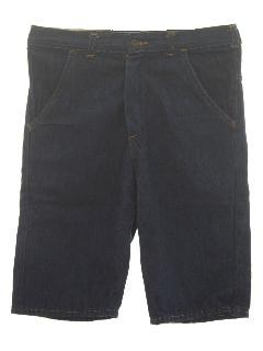 1970's Mens Jean Shorts