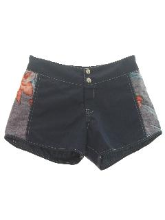 1980's Mens or Boys Swim Shorts