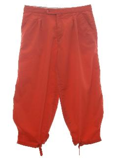 1970's Mens Knicker Golf Pants