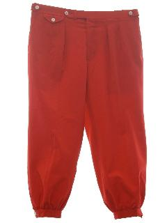 1980's Mens Knicker Style Golf Pants