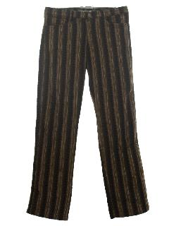 1970's Mens Mod Jeans-Cut  Pants