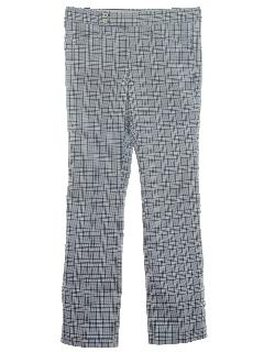 1980's Mens Flared Golf Pants