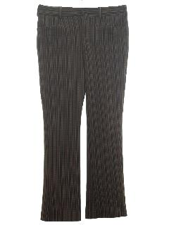 1960's Mens Flared Mod Disco Pants