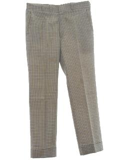 1960's Mens Golf Pants