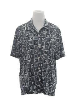 1980's Womens Print Shirt