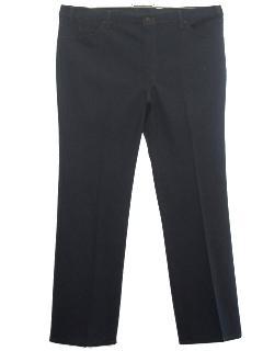 1970's Mens Flare Leg Jeans Pants
