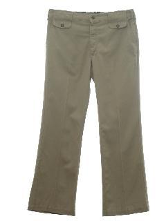 1970's Mens Flare Leg Pants
