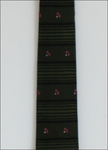 1960's Mens Skinny Rockabilly Necktie