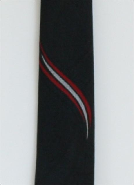 1950's Mens Skinny Rockabilly Style Necktie