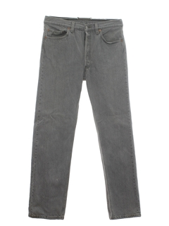 1980's Mens Stone Washed Jeans Pants