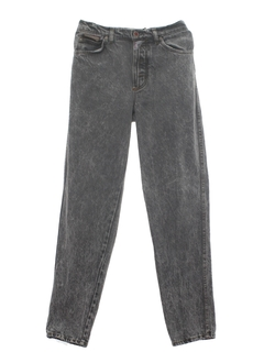 1980's Mens Acid Washed Jeans Pants