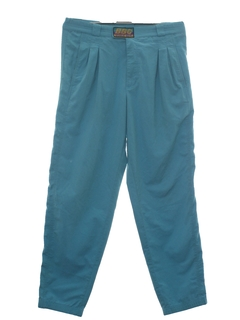 1980's Mens Totally 80s Solid Baggy Pants