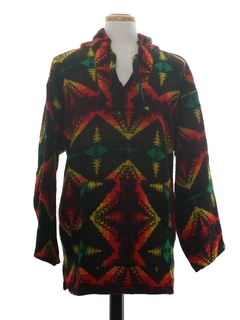 1980's Mens Baja Hippie Jacket