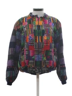 1980's Unisex Guatemalan Hippie Jacket