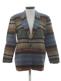 1980's Womens Totally 80s Blazer Jacket