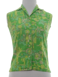 1960's Womens/Girls Shirt