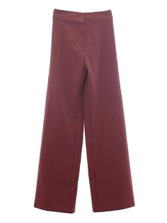 1970's Womens Stove Pipe Leg Pants