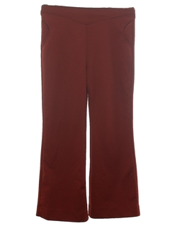 1970's Womens Western Style Bellbottom Pants