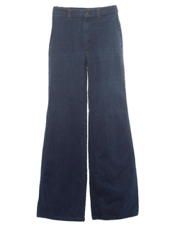 1970's Womens Flared Jeans Pants