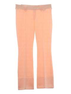 1970's Womens Western Style Knit Bellbottom Pants