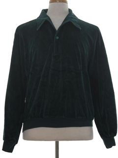 1970's Mens Velour Shirt